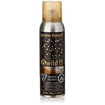 Jerome Russell B Wild Hair and Body Glitter Spray Gold Silver