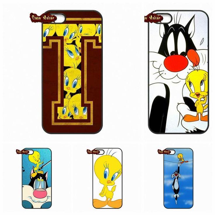 Симпатичные looney tunes Tweety Птица Чехлы чехол Капа Для LG Nexus 5 D820 D821 E980 Sony Xperia Z Z1 Z2 Z3 Z3 Z4 Z5 Компактный М2 C C3