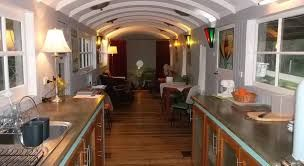 Image result for train carriage house