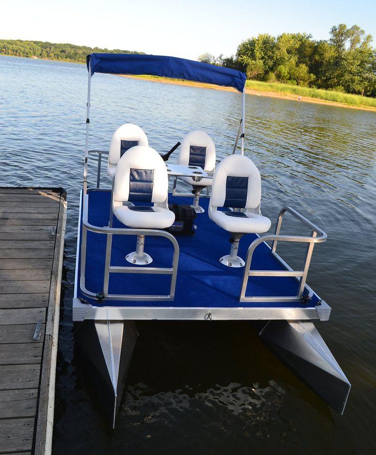 46 best mini pontoon boats images on pinterest fishing for Fishing pontoon boats