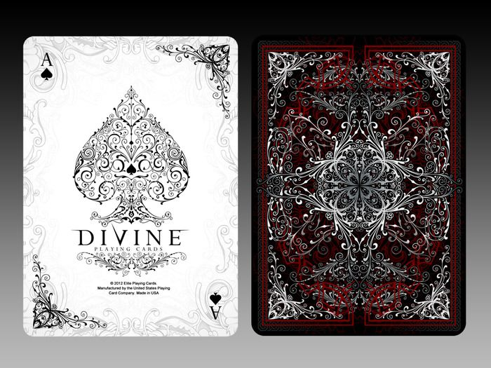 DIVINE Bicycle® Playing Cards Deck by Elite Playing Cards — Kickstarter