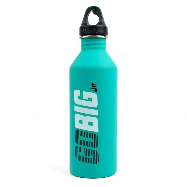 Go Big Water Bottle // Mint Dude perfect water bottle- great to keep my water cold at the gym!
