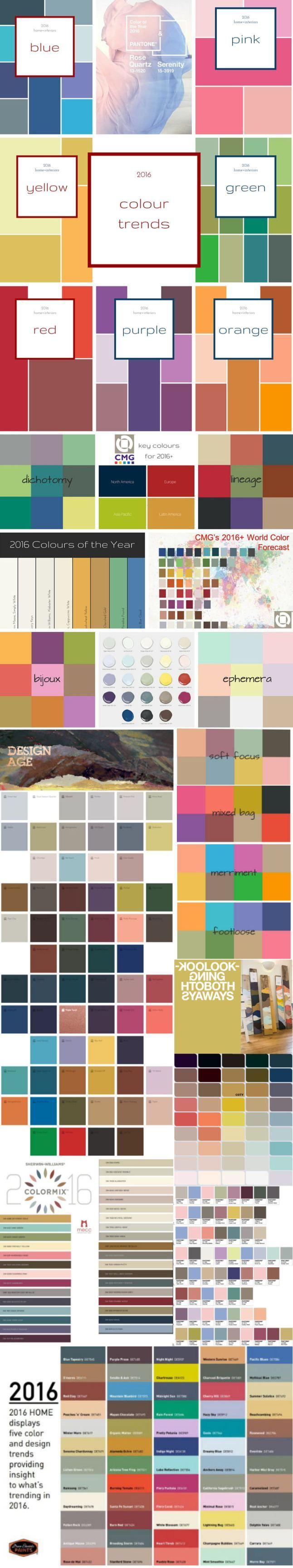 #2016trends #designtrends #colourtrends #2016colour | 2016 top colour & interiors trends | @meccinteriors | design bites