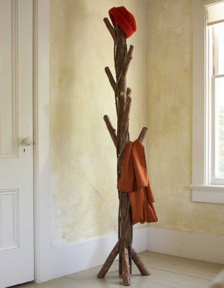 Great Furniture Living Room Chairs Small Spaces Natural Wooden Standing Twisted  Vine Coat Rack Design Inspirations 720x924