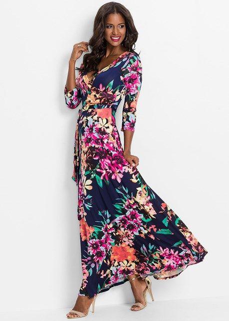 7938a260f0 Front view Floral Print Maxi Dress