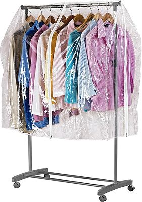 Buy HOME Clothes Rail Cover - Clear at Argos.co.uk, visit Argos.co.uk to shop online for Hanging rails