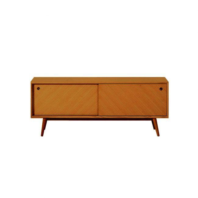Ventura Honey Oak TV Cabinet