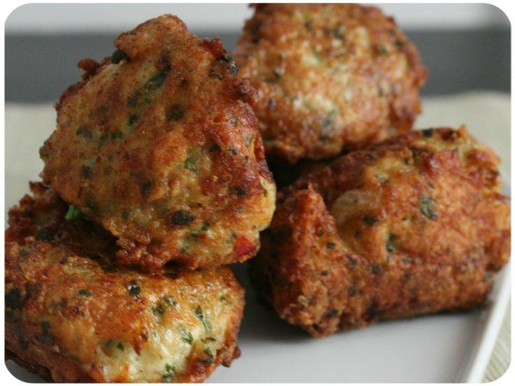 Boulettes de poulet à la coriandre & au gingembre {Chicken Kofta}