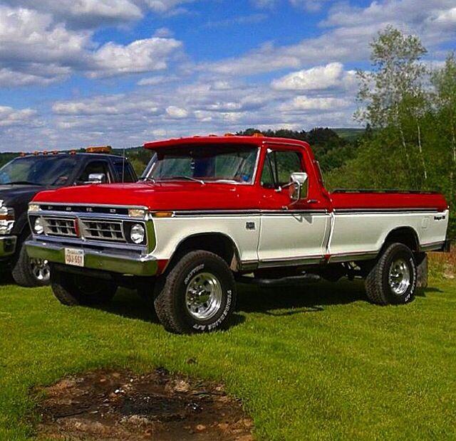 Find Used 1971 Ford F250 Highboy Sport Custom 4x4 Rare