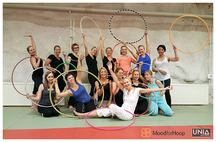 Polttarit Tampereella! #vannetanssi #huuppaus #hooping #hoopdance #workshops