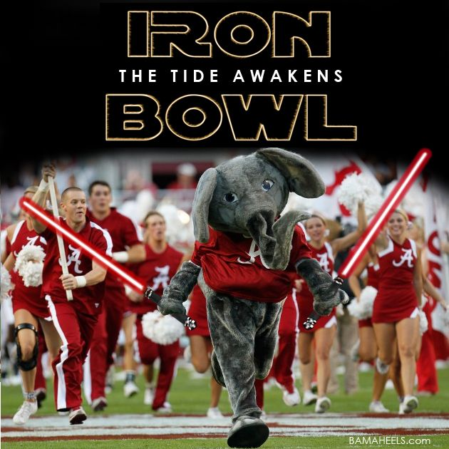 The Iron Bowl: The Tide Awakens!