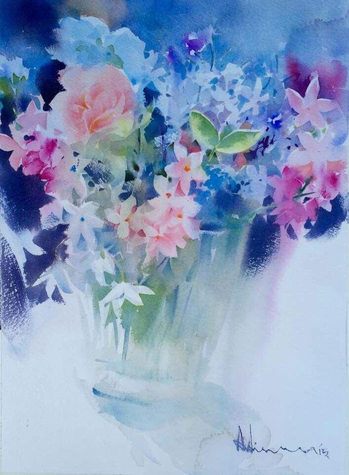 A vase of flower, by Adisorn Pornsirikarn