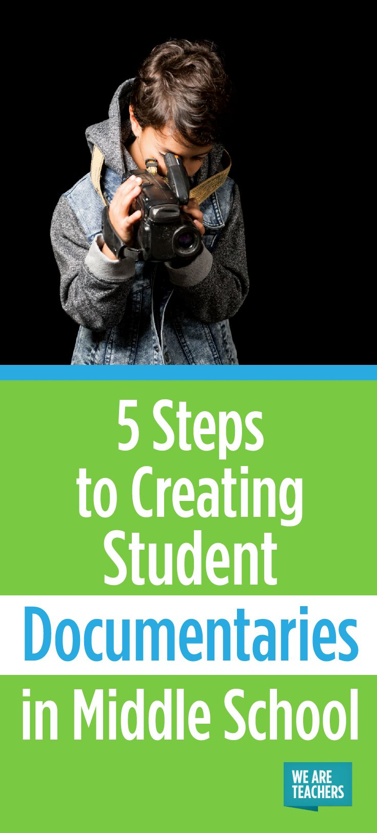 5 Steps to Creating Student Documentaries in Middle School