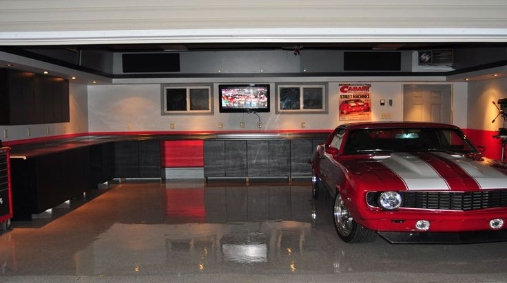 Cool garages 7 manly and cool garage ideas manly for Cool car garage ideas