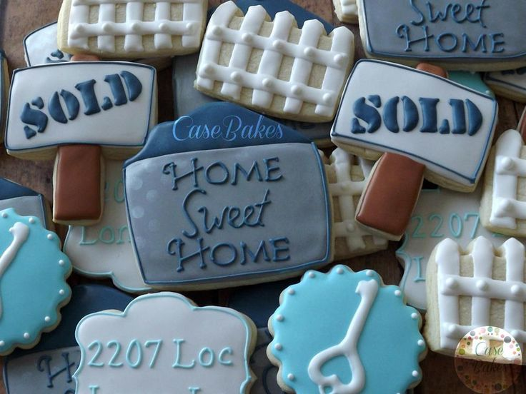 135 best cookies for realtors images on Pinterest Decorated