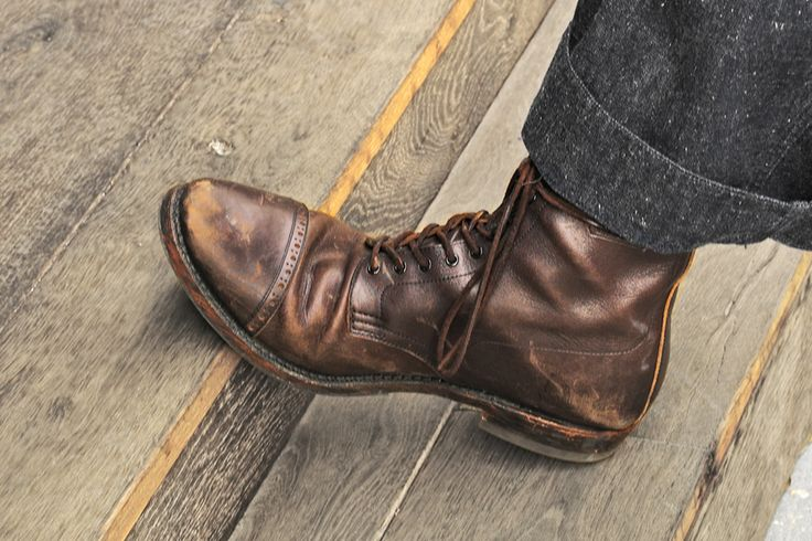 Nice Rugged Leather Boots ブーツ Pinterest And