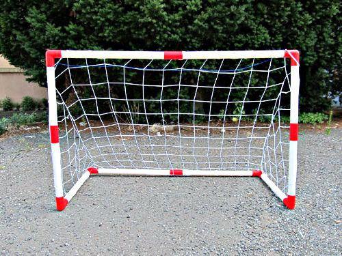 Set of 2 Junior Soccer Goals for Kids (4x3-Feet) Lightweight Nylon Net Kids  #LibertyImports