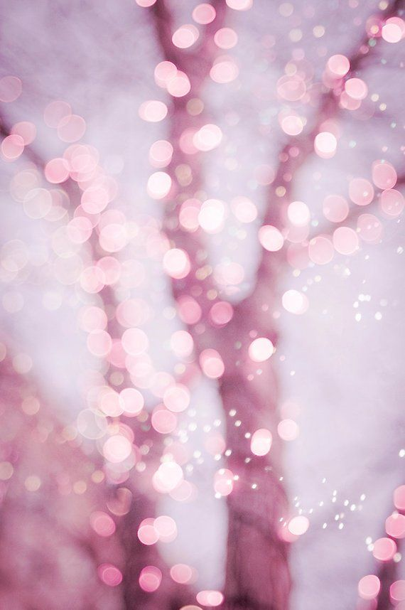Pastel Fairy Lights Photo Set Four Fine Art Photographs