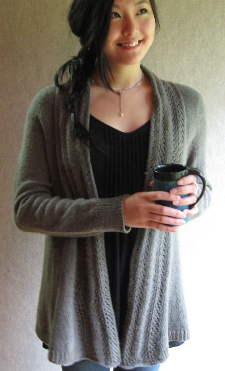 """I love this, but can't knit a sweater to save my life! Anyone interested in a """"knit along"""" to help me figure it out?? I really want to make this one!"""