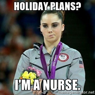 holiday plans? #nursebuff #happyholidays
