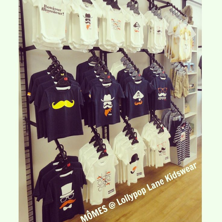 Love seeing our products displayed in stores!!  Here is #MÔMES at #LollypopLaneKidswear in #Sarina #QLD #Australia❤️ #girl#boys#organic#baby#babyorganic#tees#tshirts #stockist#onesie#romper#boys#boysstyle#kids#kidsstyle#fashion#designer#french#hipster#kidsfashion#fashionkids#funky#momes#moustache#streetfashion#quirky
