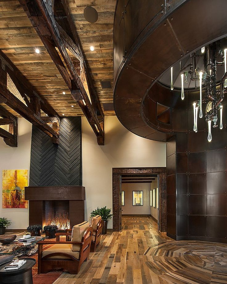 Contemporary Rustic Decor best 25+ rustic contemporary ideas on pinterest | rustic modern
