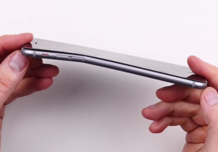 New iPhones Bend When Kept In Pocket For Long Time