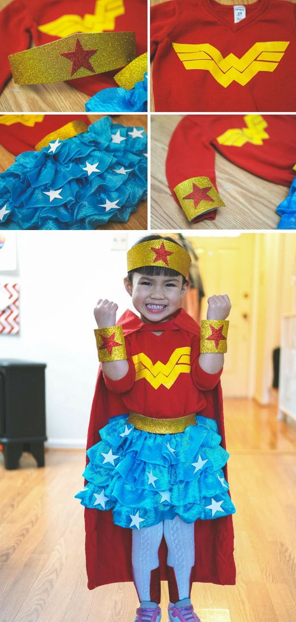 How To Make A Toddler Wonder Woman Costume Like A Pro