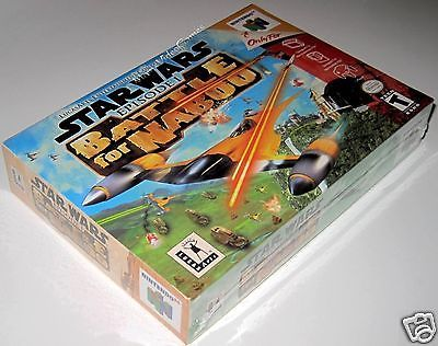 Star Wars: Episode I: Battle for Naboo..(Nintendo 64).. SeaLED!!: $122.00 End Date: Wednesday Sep-20-2017 22:44:47 PDT Buy It Now for only:…