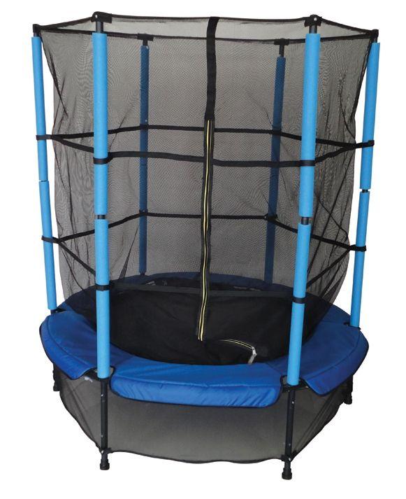 Salta in tutta serenità con il Trampolino Deluxe - Colibrì!!! Grazie alla sua rete di protezione solida e particolarmente alta puoi saltare senza problemi con i tuoi amici o con i tuoi genitori.