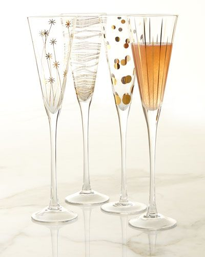 #ONLYATNM Only Here. Only Ours. Exclusively for You. Champagne flutes made of…