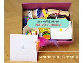 Krabička pro malé výtvarníky od Pikle z pytle