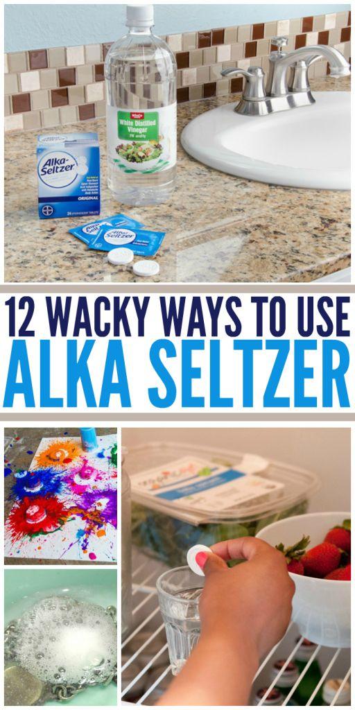 12 Wacky Ways to Use Alka Seltzer