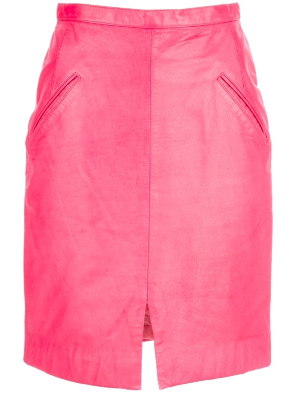 best 25 pink leather skirt ideas on pink