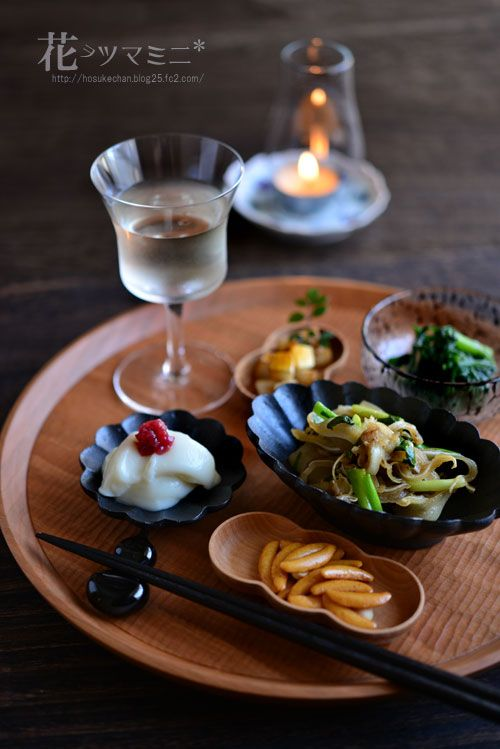 おつまみ白ワイン - Japanese OTUMAMI