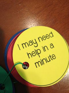 A great way to monitor if they need help right away! It has a scale from 1-4 to show if they have learned anything on the back.