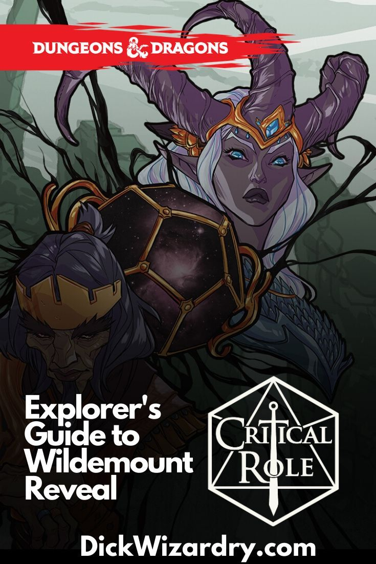 Critical roll explorers guide to wildemount reveal