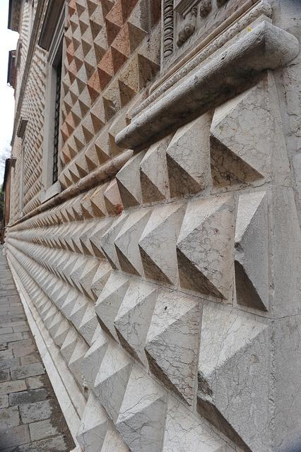 Particlare di Palazzo dei Diamanti - #Ferrara, Italy #NBTWarte #NBTW