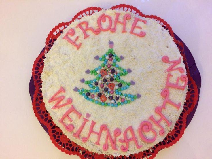 Weihnachtstorte/Christmas cake