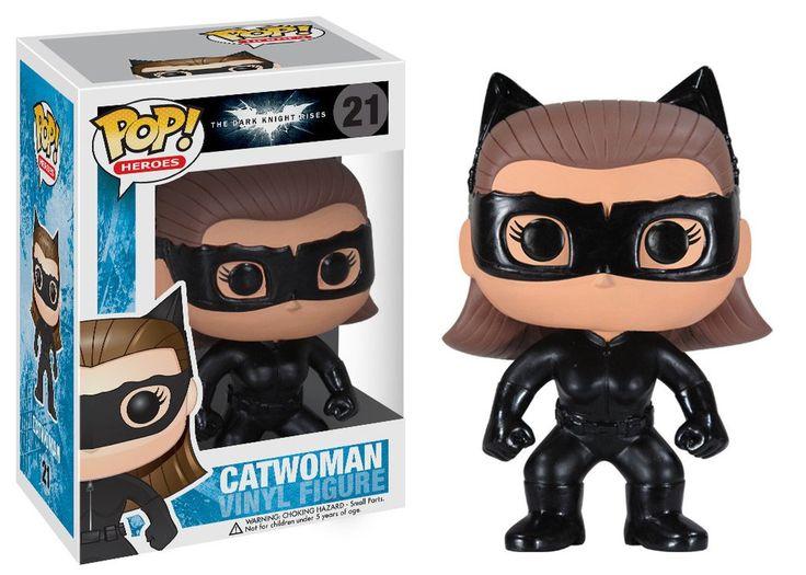 Pop! Heroes: Dark Knight Rises - Catwoman   Funko