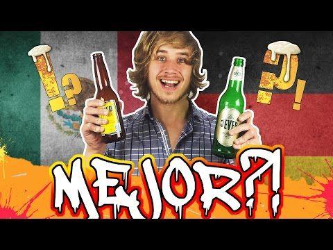 CERVEZA MEXICANA VS CERVEZA ALEMANA  Probando cerveza | México vs Alemania vs Perú Cague de Risa - Vivir en Alemania