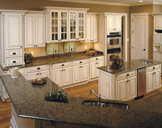 kitchen ivory cabinets | New Kitchens, Kitchen Remodeling, GE Appliances and Kitchen Cabinet ...