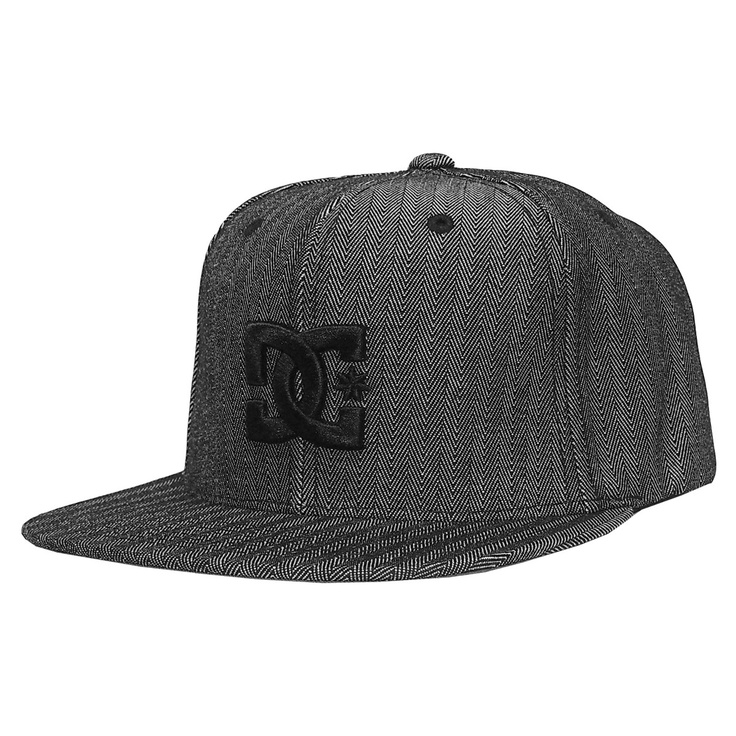 casquette dc shoes snapback starter cap back to it charcoal herringbone 35 dc dcshoes. Black Bedroom Furniture Sets. Home Design Ideas