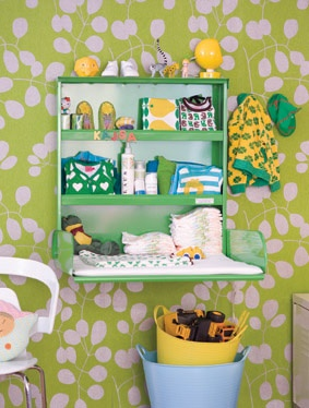 7 Non-traditional ideas for Baby Changing Tables cc: @Babycenter