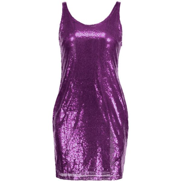 Sequins Sleeveless Fitted Dress ($21) ❤ liked on Polyvore featuring dresses, zaful, fitted dresses, sleeveless dress, purple dresses, purple cocktail dresses and body con dresses