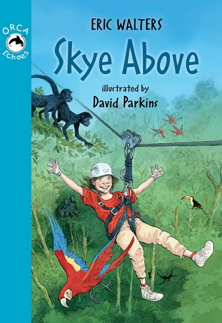 Skye Above by Eric Walters and illustrated by David Parkins