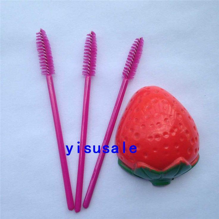 200 stks/partij Wegwerp wimper brush eenmalige Mascara Wands Applicator make borstels wimper extension