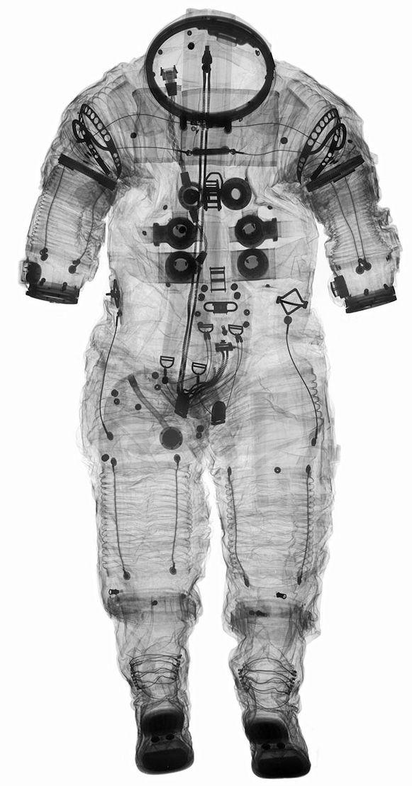 Bem Legaus!: Raio X de astronauta