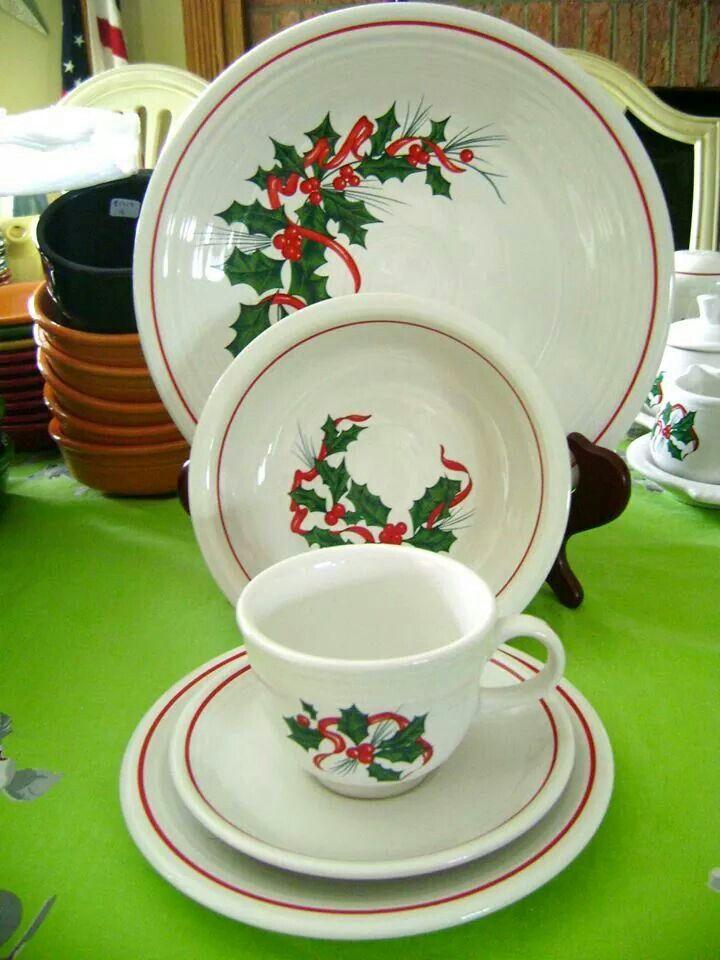 Vintage Fiesta Christmas | Holiday tableware, Fiesta ...