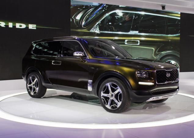 Did you see images of the #Kia Telluride at the Detroit Auto Show? This concept car impressed everyone! #DetroitAutoShow http://www.nydailynews.com/autos/news/detroit-auto-show-kia-telluride-concept-article-1.2494128